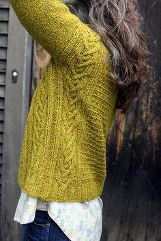 Fernet Branca pattern by Thea Colman – Knitting patterns, knitting designs, knitting for beginners. Sweater Knitting Patterns, Knitting Designs, Knit Patterns, Fair Isle Knitting, How To Purl Knit, Pulls, Lana, Knit Crochet, Textiles