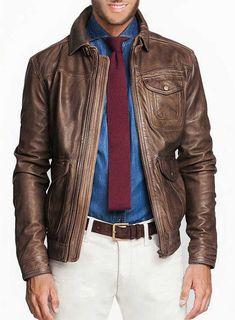 Leather Jacket - # 632