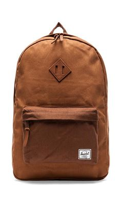 bfc2f2a53e61 Herschel Supply Co. Select Collection Heritage Backpack in Caramel   Dark  Caramel