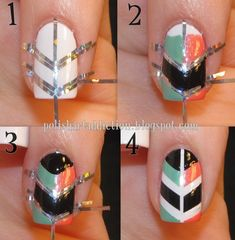 Tribal Nails! :)