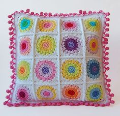 Dada's place: Rosie Posie Pillow No. 2