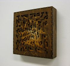 Above is Wood Grid laser cut wood from our friend Adam Rosenberg.