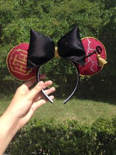 Tower of Terror Twilight Zone Mickey Ears  by EarsByDede on Etsy