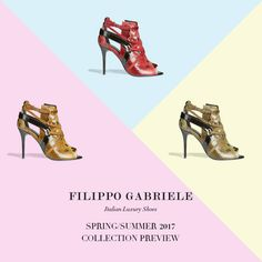 Filippo Gabriele Spring/Summer 2017 - Collection Preview  Enjoy the Summer! #FilippoGabriele  #summer #spring #newcollection #enjoy #colors #fashion #fashionable #fashionista #fblogger #photooftheday #picoftheday #instagood #instadaily #shoes #heels #highheels #shoelover #footwear #footwearnews #shoestagram #sandals #glam #cool #luxury #madeinitaly #instafashion #instashoes