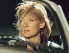 "Beatrix Kiddo aka The Bride aka Black Mamba (Uma Thurman) in ""Kill Bill I and II"""