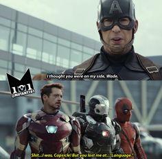 Deadpool civil war