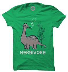 Herbivore T-Shirt | Marijuana T-Shirts | The Souled Store