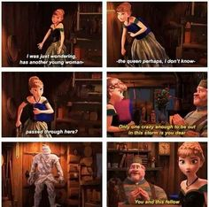 Frozen~Anna and Kristoff~comics