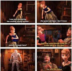 Frozen~Anna and Kristoff~comics