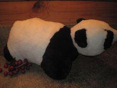 "Pillow Pets, Panda Bear, 16"" Pre-owned"
