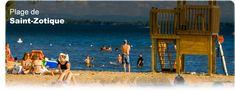 La Plage de St-Zotique | Plage St-Zotique - 45 minutes de Montréal - L'endroit idéal pour une journée en famille | Sight & Sound, Parcs, Saints, Basketball Court, Sustainable Development, Photo Galleries, The Beach
