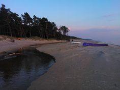 Baltic sea near Ventspils, Latvia