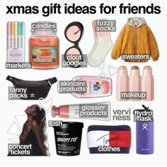 Awesome Christmas Gifts Every Teen Girl WantsYou can find Best friend christmas gifts ideas and more on our website.Awesome Christmas Gifts Every Teen Girl Wants Boyfriend Christmas Gift, Teenage Girl Gifts Christmas, Tween Gifts, Teen Girl Gifts, Bff Gifts, Christmas Gift Ideas For Teens, Bestfriend Gifts For Christmas, Diy Christmas Gifts For Friends, Cute Gifts For Friends
