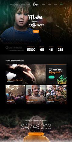 Hope Charity WordPress Theme
