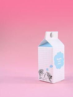 Milk Carton Template: http://www.eatdrinkchic.com/assets/content//Wedding_Favour_Cartons.pdf                               Folding Reference: http://www.ruthannzaroff.com/mirkwooddesigns/images/milkcarton.gif
