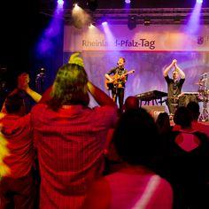 Chris und Flo. Rheinland-Pfalz Tag. 2018. Worms City. Event. Concert
