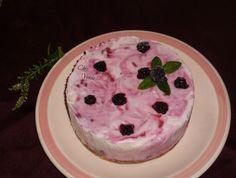 Cheesecake glacé aux  mûres (ou autres fruits rouges )