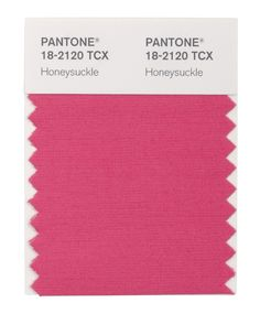 Pantone's Color of the Year 2011: Honeysuckle