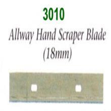 Allway Hand Scraper Blades 18mm Pack Of 10