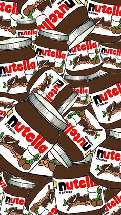 background, cute, food, life, love nutella, nutella, omg, wallpaper