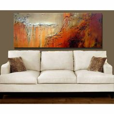 Abstract Art Paintings Canvas | ... : Handmade Contemporary Modern Abstract Oil Painting On Canvas