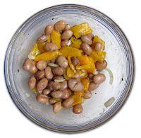Insalata di fagioli e peperoni