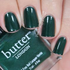 butter LONDON — British Racing Green (Core Collection)