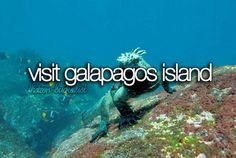 bucket list before i die visit galapagos island