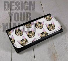 Hey, I found this really awesome Etsy listing at https://www.etsy.com/listing/293697211/womens-wallet-leather-bifold-cat-faces