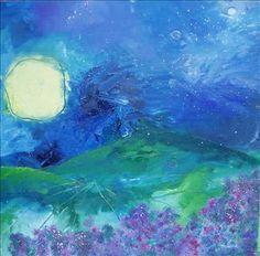 Like a mix of Monet & Van Gogh...