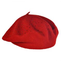 Beaded Beret cap available at  VillageHatShop Fall Weather cff862a9e4b