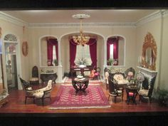 miniature parlor which is just lovely
