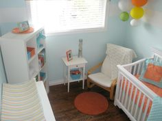 small nursery. furniture placement?