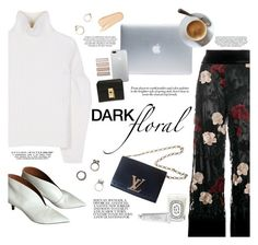"""Victorian"" by igedesubawa ❤ liked on Polyvore featuring Ganni, Victoria Beckham, Incase, Louis Vuitton, Chloé, Diptyque, Byredo, Beautycounter, Iosselliani and contest"