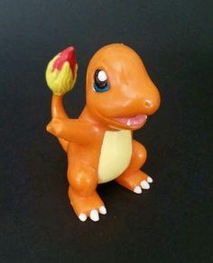 "2000 Charmander Pokemon Nintendo Bakery Crafts PVC Cake Topper Toy Figure 3"" #Nintendo"