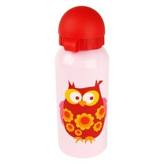 Water bottle Red Owl, Retro Kids, Drink Bottles, Cute Babies, Water Bottle, Steel, Bpa Frei, Kitchen Stuff, Children