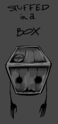 Tiny Box Tim by Missluckystrike on DeviantArt