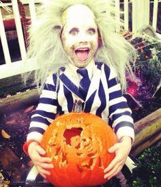 Beetlejuice! - 2012 Halloween Costume Contest