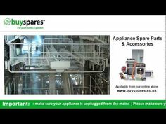 How to make sure your dishwasher is cleaning properly, BuySpares 'how to videos'.