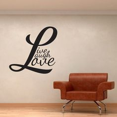 Live Laugh Love Wall Art from Next Wall Stickers