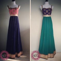 Great fusion pieces Studio East 6  #Fusion #IndianFashion #IndianBridal #StudioEast6   www.studioeast6.com