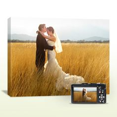 $34.99 for One 16 x 20 Gallery Wrapped Canvas ($126.95 Value).