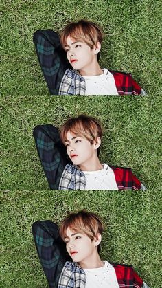 : Who's that laying on the grass?: Oh It's Taehyung Billboard Music Awards, Daegu, Taekook, Guinness, K Pop, Seokjin, Hoseok, Justin Bieber, Bts Kim