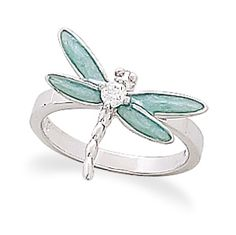 Dragonfly Ring. How cute!