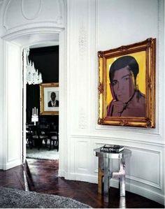 Lenny Kravitz design: Chic, glamour, rock et luxe! Lenny Kravitz, Feng Shui, Wood Parquet, African Sculptures, Paris Decor, Paris Apartments, Parisian Apartment, Classic Architecture, Le Palais