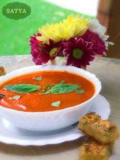 Supa de rosii Thai Red Curry, Menu, Vegetarian, Ethnic Recipes, Photos, Menu Board Design, Menu Cards