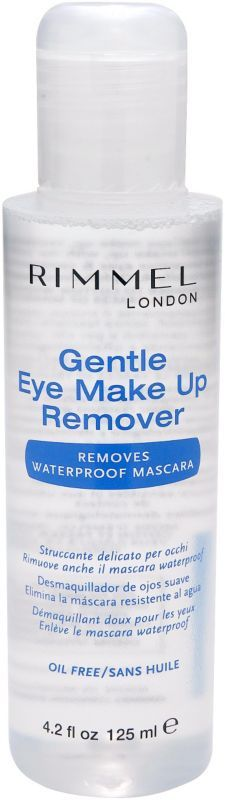 Gently remove all traces of eye make up using Rimmel Gentle Eye Makeup Remover. #Rimmel