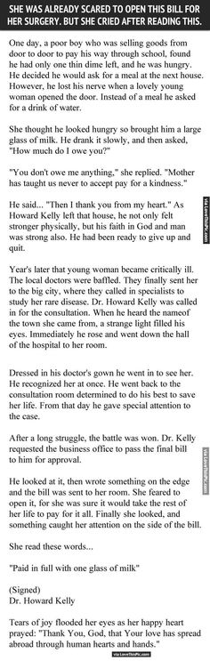 She Was Already Scared To Open This Bill For Her Surgery But She Cried After Reading This people amazing story interesting facts stories heart warming good people