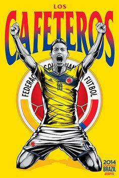 Selección de Colombia. Todas las imágenes son de Cristiano Siqueira para ESPN.