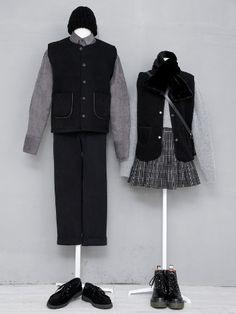 마리쉬♥패션 트렌드북! Ulzzang Fashion, Kpop Fashion, Asian Fashion, Edgy Outfits, Cute Outfits, Fashion Outfits, Rock Outfits, Pop Punk Fashion, Matching Couple Outfits